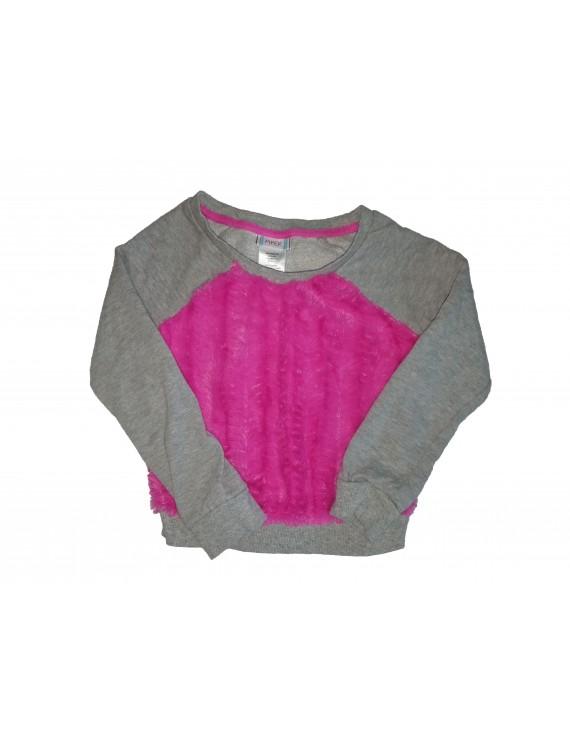 Szürke-rózsaszín pulcsi, 98