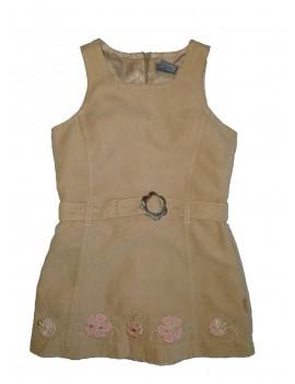 Világosbarna ruha, kb. 98