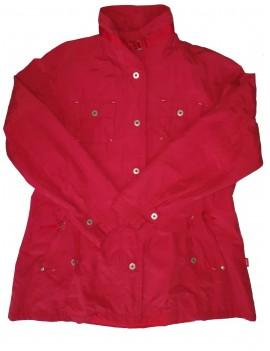 Piros átmeneti kabát, XXL