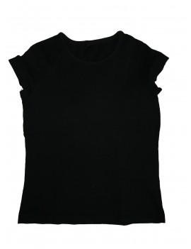Kislány fekete póló, 110-116