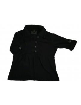 Fekete női pulcsi, XL
