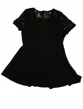 Fekete női ruha, 46